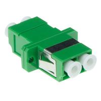 ACT Fiber optic LC-APC duplex adapter - Vert