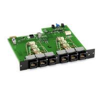 Black Box Pro Switching System Plus A/B Switch Card, RJ-45 CAT6 10-GbE, Dual-Port Netwerkkaart