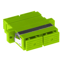 ACT SC-SC, OM5, Lime green Glasvezel-adapters - Groen, Limoen