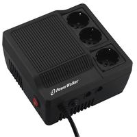PowerWalker AVR 1000 Régulateur de tension - Noir