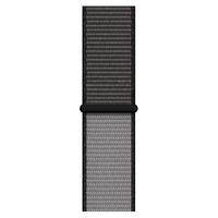Apple Geweven sportbandje - Diepgrijs (40 mm) - Zwart,Grijs