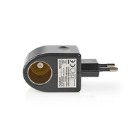 Nedis WACA12V Kabel adapter - Zwart