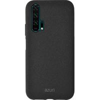 Azuri Flexible cover with sand texture - zwart - voor Huawei Honor 20 Pro