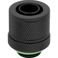 """Corsair Hydro X Series XF Compression 10/13mm (3/8"""" / 1/2"""") ID/OD Fitting Four Pack — Black Accessoire de ....."""