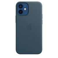 Apple Coque en cuir avec MagSafe pour iPhone 12 mini - Bleu Baltique