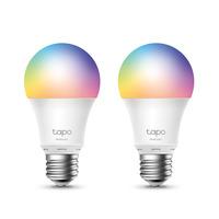 Tapo 8.7 W, 2700 K, 806 lumens, IEEE 802.11b/g/n, 2.4 GHz Wi-Fi - Metallic,Wit