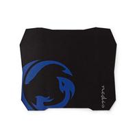 Nedis Gamer, Base antidérapante et étanche, 287 x 244 mm Tapis de souris - Noir, Bleu