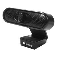 Sandberg USB 1080P HD Webcam - Noir