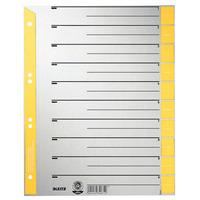 Leitz Intercalaires en carton Intercalaire - Gris,Jaune