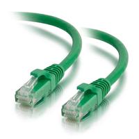 C2G Câble de raccordement réseau Cat5e avec gaine non blindé (UTP) de 0,5M - Vert Câble de réseau