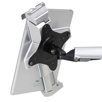 Ergotron Lockable Tablet Mount Multimedia karren & stands - Zilver