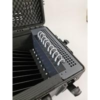 Leba NoteCase 10 Laptop Sockets (Schuko plug) - Zwart