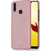 Azuri metallic cover met soft touch coating - roze - voor Huawei P20 Lite