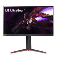 LG 27'' UltraGear QHD Nano IPS 1ms 165Hz HDR Monitor with G-SYNC Compatibility Moniteur - Noir,Rouge