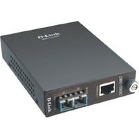 D-Link Media Converter Gigabit TP-to-Gigabit Fiber (1000Base-SX) multi-mode (SC, 550m max.) Convertisseur réseau .....