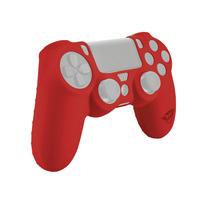 Trust Coque en silicone pour une meilleure prise en main et protéger votre manette de jeu des rayures - Rouge