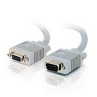 C2G 10m Monitor HD15 M/F cable - Grijs