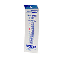 Brother ID4040 LABEL SET (SIZE 40X40) 50 BAGS Etiket - Wit