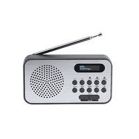 Thomson Compact portable DAB+ Radio - Noir,Métallique