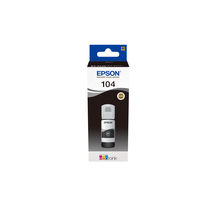 Epson 104 EcoTank Black ink bottle - Zwart