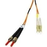 C2G 7m LC/ST LSZH Duplex 62.5/125 Multimode Fibre Patch Cable Fiber optic kabel - Oranje