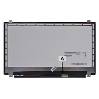 2-Power 15.6 WXGA 1366x768 HD LED Glossy Screen Laptop reserve onderdelen - Zwart,Grijs