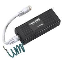 Black Box Power over Ethernet Surge Protector, 60-Volt PoE adapter & injector - Zwart