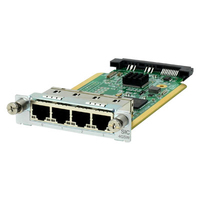 Hewlett Packard Enterprise MSR 4-port Gig-T Switch SIC Module Netwerkswitch module
