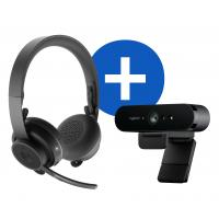 Logitech Pro Personal Video Collaboration Kit Video conferentie systeem - Zwart