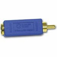 C2G Bi-Directional RCA Male/ S-Video Female Video Adapter Kabel adapter - Blauw