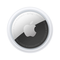 Apple AirTag (1 stuk) - Zilver, Wit
