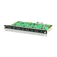 Aten 4-Port HDBaseT Output Board, IR Transmitter, IR Receiver, 4xTerminal Block Connectors Commutateur vidéo - .....
