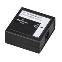 Black Box Isolateur de données Ethernet 10/100 et 10/100/1000 Protecteur tension - Noir