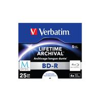Verbatim M-Disc 4x Disques vierges Blu-Ray