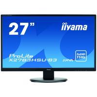 Iiyama ProLite 27'' LCD-monitor met AMVA+ Panel-technologie TFT monitor - Zwart