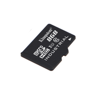Kingston Technology Industrial Temperature microSD UHS-I 8GB Flashgeheugen - Zwart