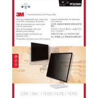 3M PF220W9F Filtre écran - Noir, Transparent