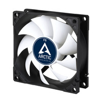 ARCTIC F8 Cooling - Zwart,Wit