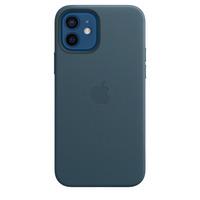 Apple Coque en cuir avec MagSafe pour iPhone 12 | 12 Pro - Bleu Baltique