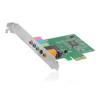 Ewent 5.1ch, PCI-e 32 bit, C-Media CMI8738-LX, DS3D A3D, Direct 3D, EAX Geluidskaart