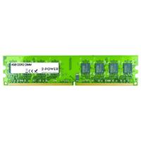 2-Power 4GB DDR2 800MHz DIMM Memory Mémoire RAM - Vert