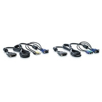 Hewlett Packard Enterprise Console Switches Cables & Options HP 1x4 KVM 6ft PS2 Cable Câbles .....