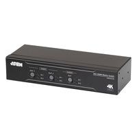 Aten 2 x 2 True 4K HDMI Matrix Switch with Audio De-Embedder