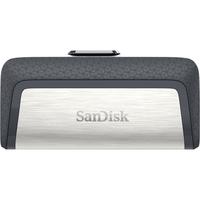 Sandisk Ultra Dual Drive USB Type-C Clé USB - Noir, Argent