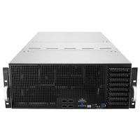 ASUS ESC8000 G4 Barebone server - Zwart,Roestvrijstaal