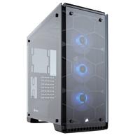 Corsair Crystal 570X Boîtier d'ordinateur - Noir, Transparent