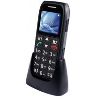 Fysic FM-7500 Big Button Comfort GSM Black actie pakket 5+1 gratis Diverse hardware