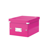Leitz Click & Store WOW Small Archiefdoos - Roze