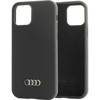Audi Q3 Silicone Backcover iPhone 12 (Pro) - Zwart - Zwart / Black Housse de protection téléphones portables