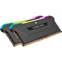 Corsair 16 GB ( 2 x 8 GB ), DDR4, 3200 MHz, C16, Black RAM-geheugen